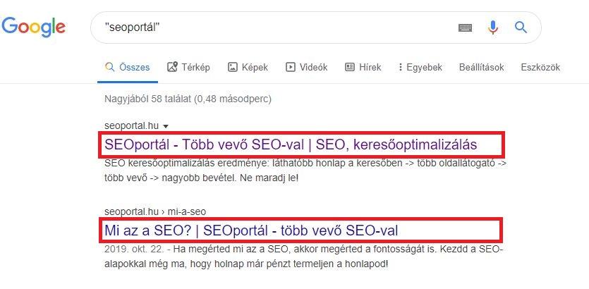 Title Seoportál